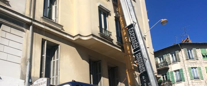 Chantier, rue Auguste Gal à Nice avec notre partenaire Franchi Location[…] Lire la suite