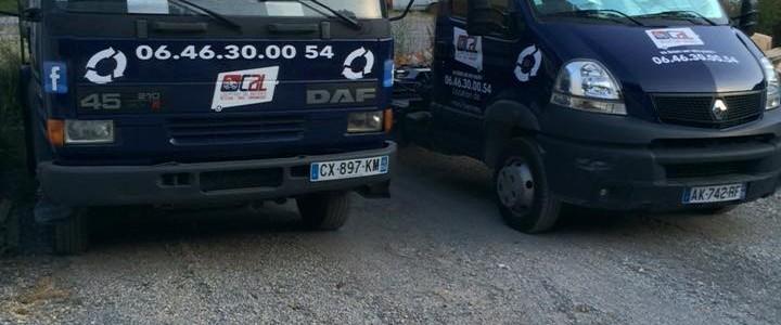 camion location benne calbennes