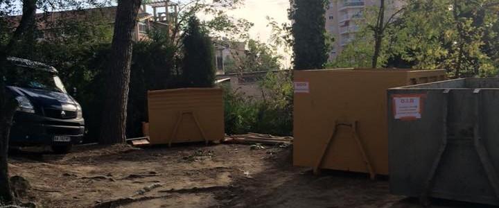 evacuation gravats bois renovation appartement