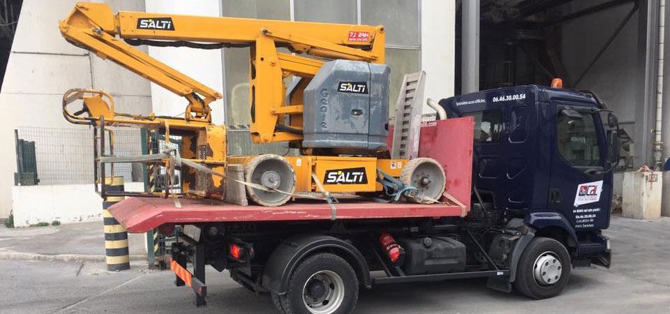 transport engin de chantier - transfert d'engin